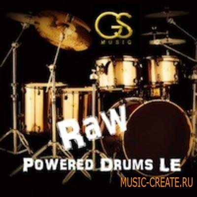 Big Fish Audio - Raw Powered Drums LE (MULTiFORMAT) - сэмплы барабанов