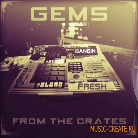 The Drum Sample Broker - Gems From The Crates (WAV) - драм сэмплы