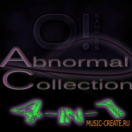 O! Samples - Abnormal Collection 4 in 1 (WAV MIDI) - сэмплы Electro House, Progressive House