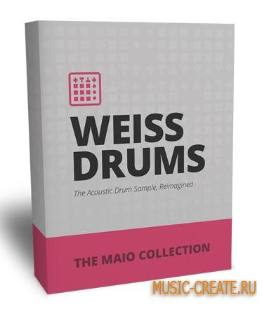 The Drum Sample Broker - Weiss Drums: The Maio Collection (WAV) - драм сэмплы