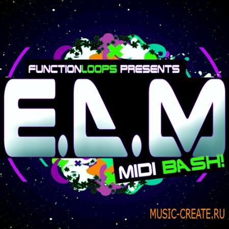 Function Loops - EDM MIDI Bash (WAV MIDI) - сэмплы EDM