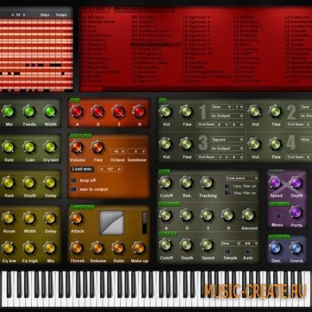 Bitsonic Waspy v3.0  (TEAM R2R) - аналоговый синтезатор