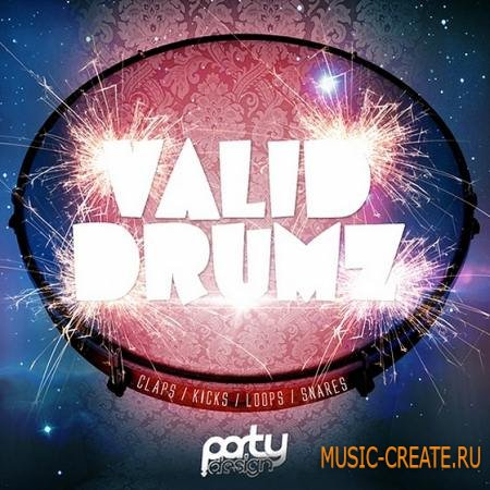 Party Design - Valid Drumz (WAV) - сэмплы ударных