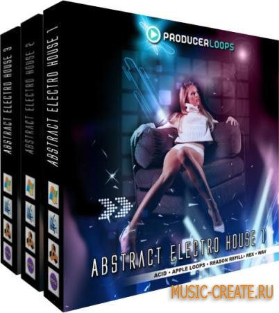 Producer Loops - Abstract Electro House Bundle 3-in-1 (MULTiFORMAT) - сэмплы Electro House