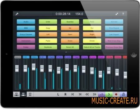 Steinberg - Cubase iC Pro v1.2 (iOS) - приложение дистанционного управления Steinberg Cubase