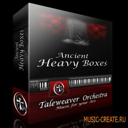 Taleweaver Orchestra - Ancient Heavy Boxes (KONTAKT) - библиотека звуков ударных