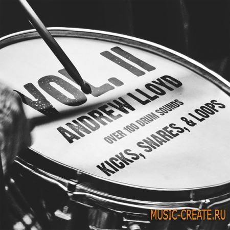 Andrew Lloyd - Drum Kit Vol.2 (WAV) - сэмплы ударных