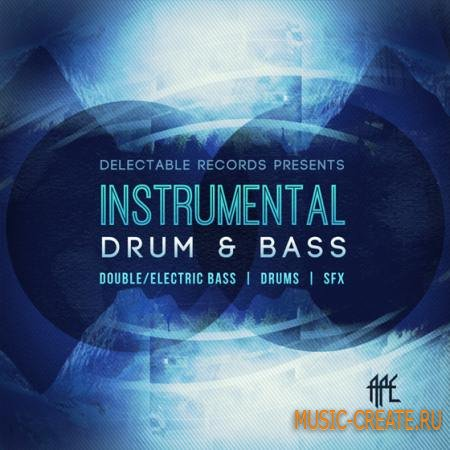 Delectable Records - Instrumental Drum and Bass (WAV) - сэмплы Drum and Bass