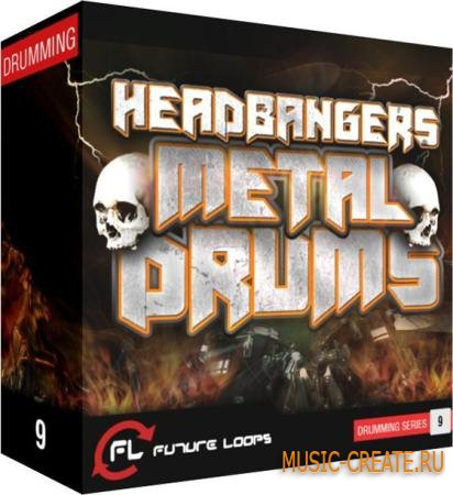 Future Loops - Headbangers Metal Drums (WAV REX2) - сэмплы Metal, Rock