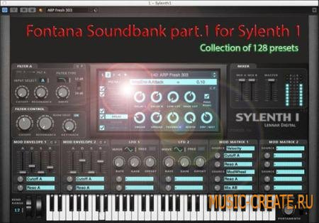 Jerome Fontana - Sylenth1 Soundset Part.1 (Sylenth presets FXB)