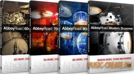 Native Instruments - Abbey Road 50s/60s/70s/80s/Modern/Studio/Vintage (MIDI GROOVES ONLY)