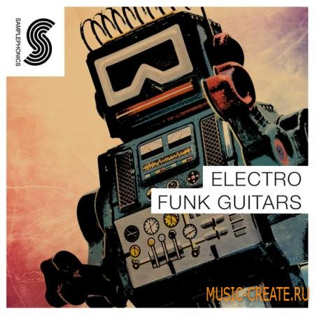 Samplephonics - Electro Funk Guitars (ACiD WAV) - сэмплы гитары
