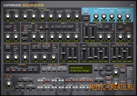 SuperWave - Equinoxe Bundle v1.1 (Team R2R) - аналоговый синтезатор