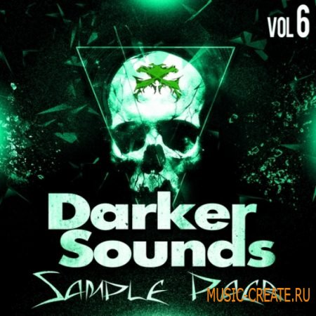 Darker Sounds Sample Pack Vol 6 (WAV) - сэмплы underground, dark