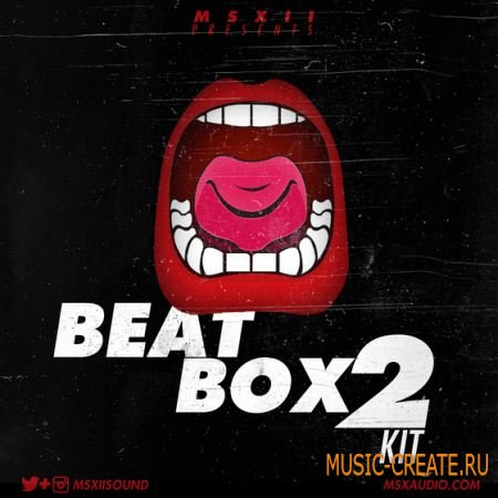 MSXII Sound Design - The Beatbox 2 Kit (WAV) - сэмплы ударных