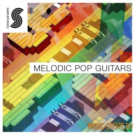 Samplephonics - Melodic Pop Guitars (ACiD WAV) - сэмплы гитары
