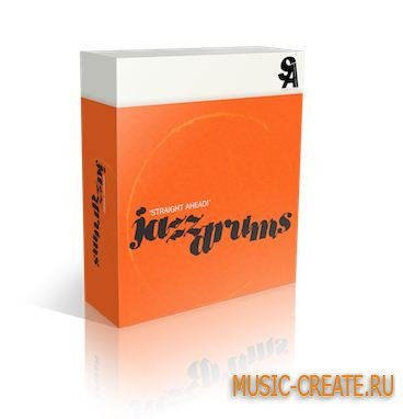 Straight Ahead Samples - Jazz Drums v1.5 (KONTAKT) - библиотека ударных