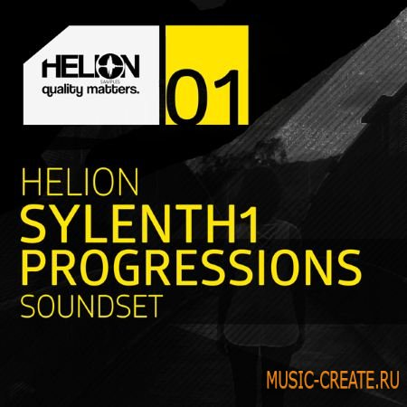 Helion Samples - Helion Sylenth1 Progressions Vol.1 (Sylenth presets)