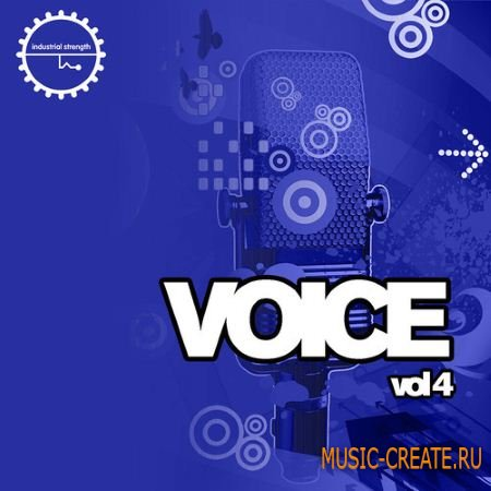 Industrial Strength Records - Voice Vol.4 (WAV MiDi) - вокальные сэмплы