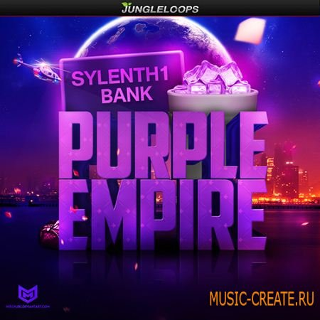 Jungle Loops - Purple Empire Sylenth1 Bank (Sylenth1 presets)