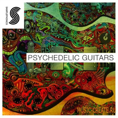 Samplephonics - Psychedelic Guitars (WAV) - сэмплы гитары