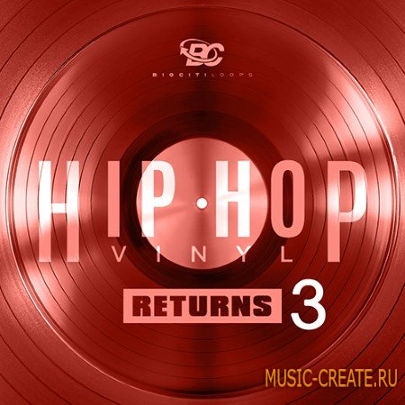 Big Citi Loops - Hip Hop Vinyl Returns 3 (WAV) - сэмплы Hip Hop