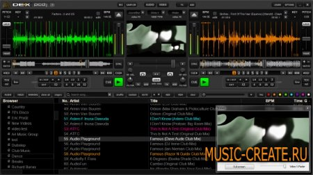 Digital 1 Audio - PCDJ DEX v3.0.1 WiN/MAC (Team R2R) - dj оборудование