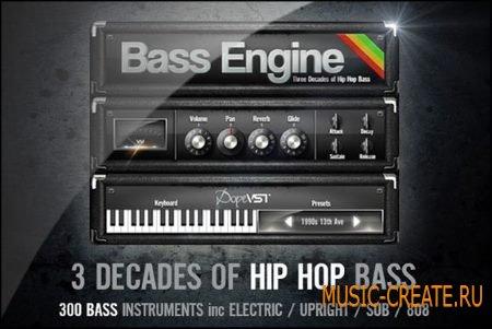 DopeVST - Bass Engine v1.1 WIN x32x64 (Team MATRiX) - бас-синтезатор