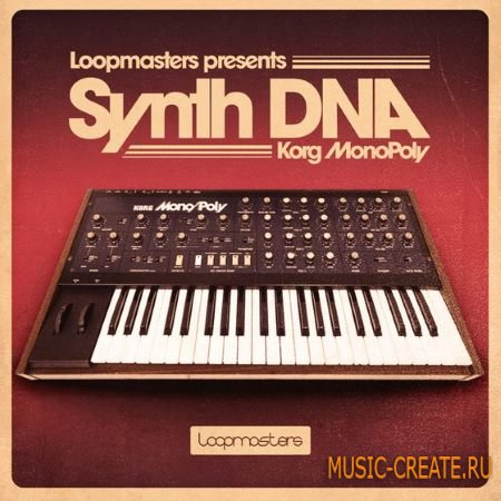 Loopmasters - DNA Synths Korg MonoPoly (MULTiFORMAT) - сэмплы синтезаторов