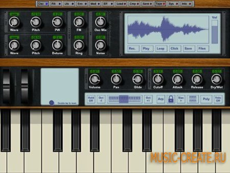 NLog Synth PRO v5.3.1 for iPad (iOS)