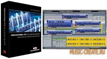 Novation - Plugins Pack 2014.08.12 (Team R2R) - сборка синтезаторов и эффектов