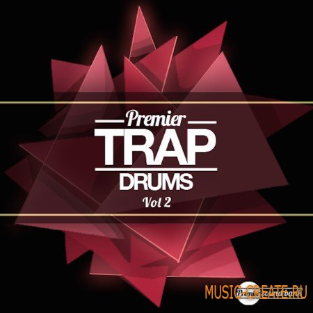 Premier Sound Bank - Premier Trap Drums Vol.2 (WAV) - сэмплы ударных