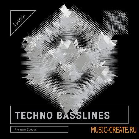 Riemann Kollektion - Riemann Techno Basslines 2 (WAV) - сэмплы Techno