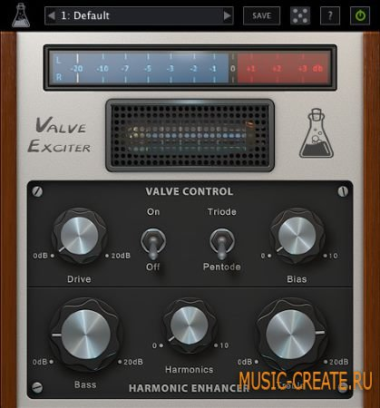 AudioThing - Valve Exciter v1.3.1 WiN/MacOSX (Team UNION) - плагин Enhancer