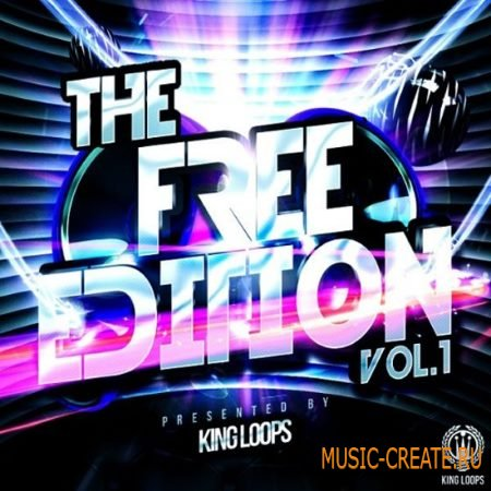 King Loops - The Free Edition Vol. 1 (WAV) - сэмплы Trap, RnB, Hip Hop