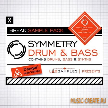 Loopmasters - Break: Symmetry Drum and Bass (MULTiFORMAT) - сэмплы Drum and Bass