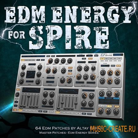 Master Patches - EDM Energy (Spire presets)