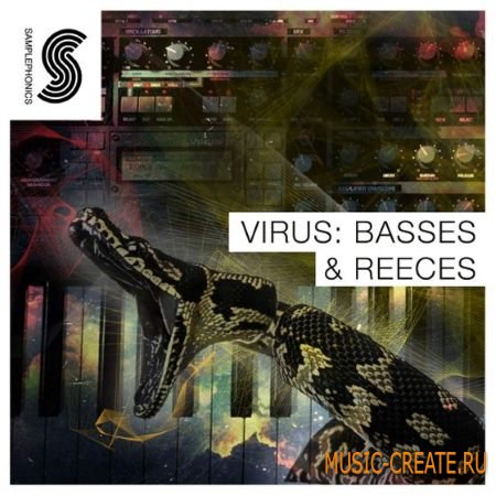 Samplephonics - Virus: Bass and Reeces (MULTiFORMAT) - сэмплы синтезатора Virus TI