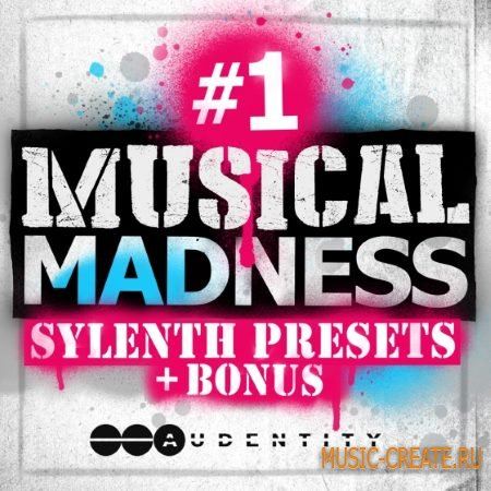 Audentity - #1 Musical Madness (WAV Sylenth / Spire Presets)