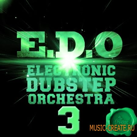 Fox Samples - EDO Electronic Dubstep Orchestra 3 (WAV MIDI) - сэмплы Dubstep