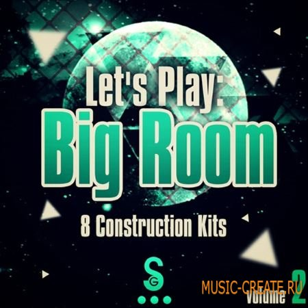Golden Samples - Lets Play Big Room Vol.2 (WAV MiDi) - сэмплы Big Room