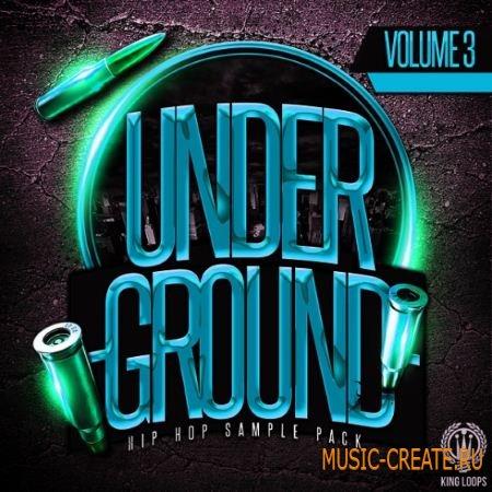 King Loops - Underground Vol.3 Dark Edition (WAV) - сэмплы Hip Hop, Gangsta, East Coast, Urban