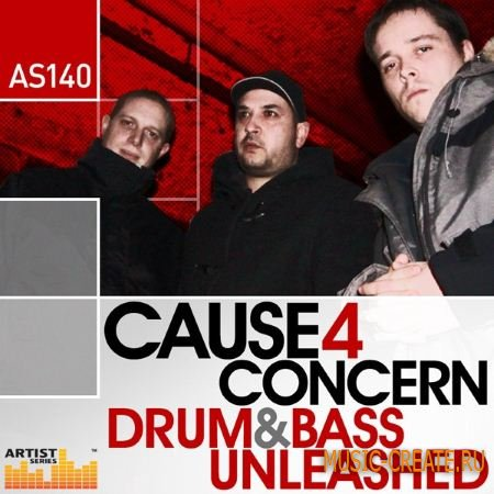 Loopmasters - Cause 4 Concern Drum and Bass Unleashed (MULTiFORMAT) - сэмплы Drum and Bas