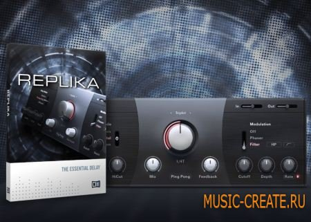 Native Instruments - Replika v1.3.2 (Team R2R) - плагин дэлей