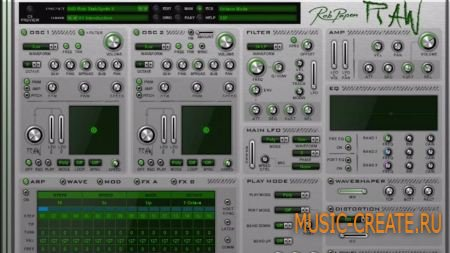 Rob Papen - RAW v1.0.3b (Team R2R) - синтезатор