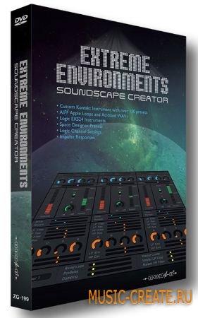 Zero-G - Extreme Environments (KONTAKT) - библиотека звуковых эффектов