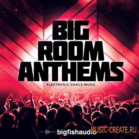 Big Fish Audio - Big Room Anthems (MULTiFORMAT / KONTAKT) - сэмплы EDM