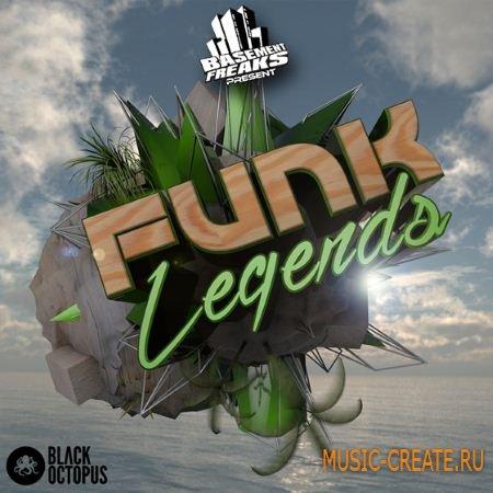 Black Octopus Sound - Basement Freaks Funk Legends (WAV) - сэмплы Funk