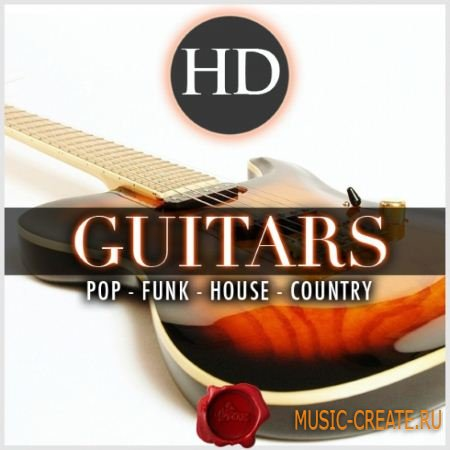 Fox Samples - HD Guitars (WAV) - сэмплы гитары
