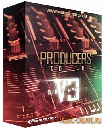 Industrykits - Producers Go To Drumkit v3 (WAV) - сэмплы ударных